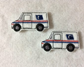 Mail Truck Feltie   Always Precut