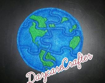 Earth Felt Puzzle