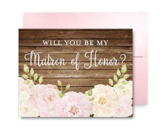 Will You Be My Bridesmaid Card, Bridesmaid Cards, Ask Bridesmaid, Bridesmaid Maid of Honor Gift, Matron of Honor, Flower Girl #CL234