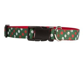 Holly Jolly Christmas Dog Collar