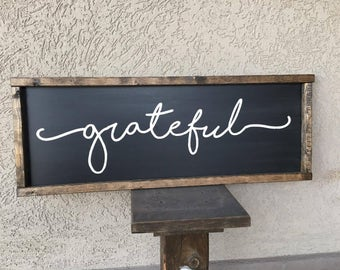 Grateful Farm Sign