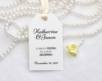 Wedding tag/ WEDDING set of 10 tags