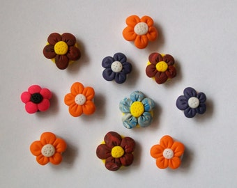 Flowers of Spring Pin Board Pins