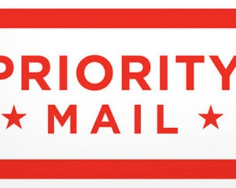 Six Dollar Priority Mail Shipping