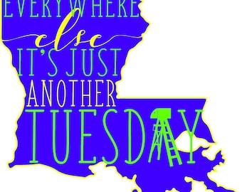 Louisiana Tuesday