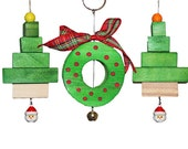 Wood Hanging Chew Toy With Small Bell
