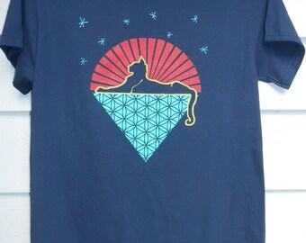 Cats Under the Stars Jerry Garcia Shirt