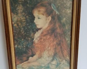 Renoirè Reproduction of Mademoiselle Irène Cahen d'Anvers