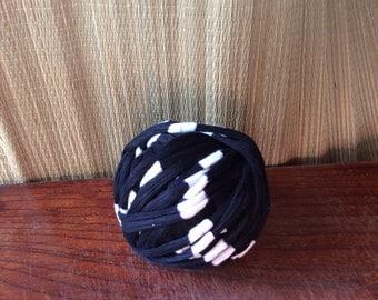 Ito, long thread for kasuri ikat weaving, one skein, vintage Japanese cotton thread, indigo-dyed