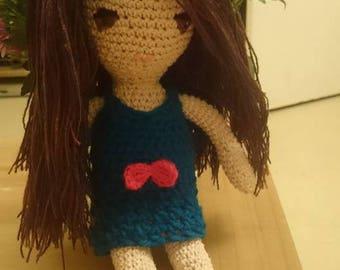 Pretty Amigurumi dolly
