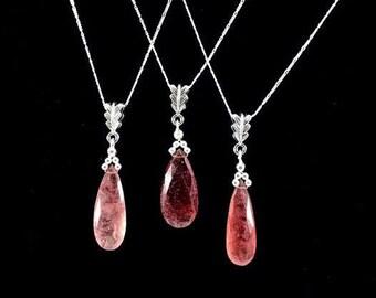 Muscovite Pendant Necklace/