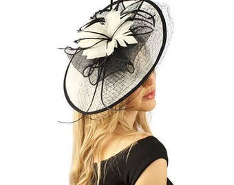 fascinators email for color availability feathers sinamay