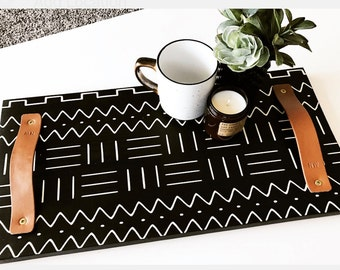 Mudcloth Serving Tray