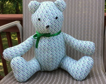 Handmade Stuffed Teddy Bear