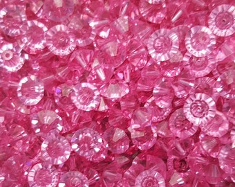 Swarovski Elements  (5305) Faceted Crystal Beads - ROSE - Select 10, 20 or 50 Beads