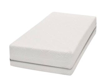 Puckdaddy Coconut / foam cot bed mattress, 140x70cm
