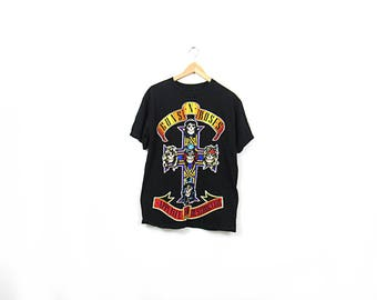 90s Appetite for Destruction Tee / Guns n Roses T-Shirt
