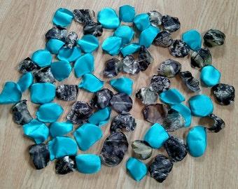 Blue Camo Flowers Etsy