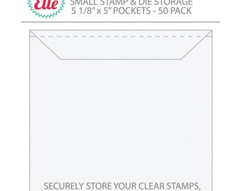 Avery Elle Extra Large Stamp Amp Die Storage Pockets Clear Stamp