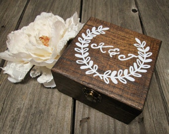 Rustic keepsake box, rustic box, custom keepsake box, custom box, wood jewelry box, custom jewelry box, rustic ring box, rustic jewelry box