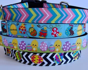 Easter Dog Collars - READY TO SHIP!