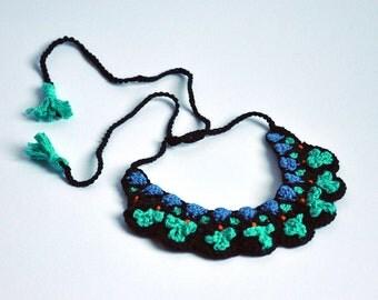 Crochet Ethnic Necklace