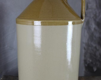 Large Stoneware Flagon