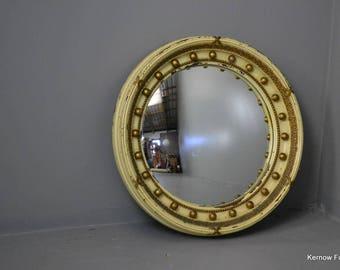 Regency Style Round Mirror
