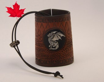 All Leather laced Dragon Cuff Game Of Thrones Targaryen Alysanne inspired