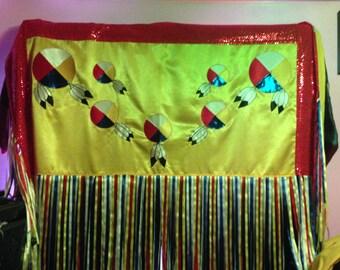 Native American Regalia Womens Fancy Shawl Outfit PLUS Beadwork