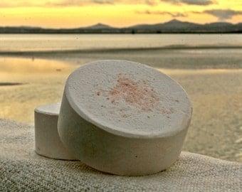 Himalayan Salt Bar, Coconut Oil Soap, Detoxifying Body Bar, Luxury Spa Bar, Exfoliating Salt Soap, Made in Ireland, Gift Soap