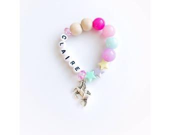 New unicorn stars bracelet