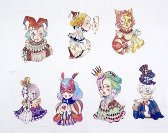 Circus Washi Tape/Japanese Washi Tape / Deco tape TZ1774