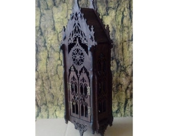 Gothic shelf ,cupboard, medieval inspiration, the oriel window, medieval furniture