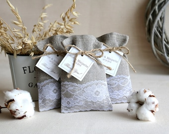 wedding candy bags, baptism favor bags, favor bags wedding, burlap gift bags, candy bags, burlap candy bags, wedding gift bag