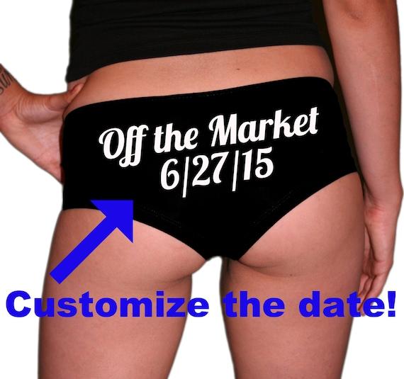 Custom Wedding Date: Off The Market