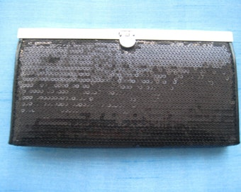 Simple Black Evening Clutch
