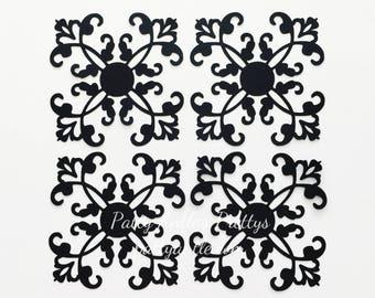 Ornamental Flourish Die Cuts, Ornamental Die Cut, Flourish Die Cut, Embellishment Die Cuts, Wedding Die Cut