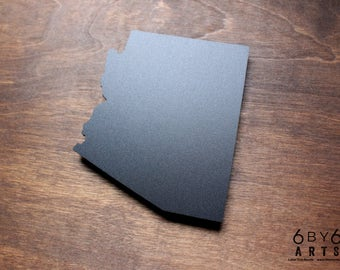 Arizona State Laser Cut Chalkboard Magnet