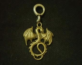 Dragon dreadlock bead cuff