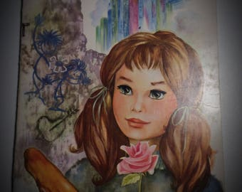 """Vintage 1978-book for child in french: """"Anne-lise and the big-city"""" #miss xx"""