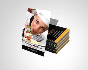 Business Cards (Food & Beverage (ink-496) Template)