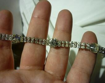 D86 Vintage Rhinestone Bracelet.