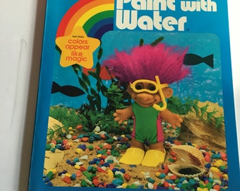 Troll paint with water book 1992