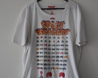 Vintage XL SPACE INVADERS tee