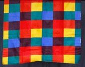 Vintage Color block fabri...