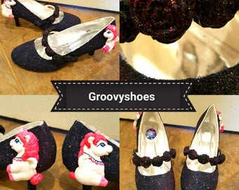 Pegasus unicorn pony low heels