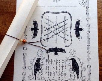 Parchment Rune Scroll