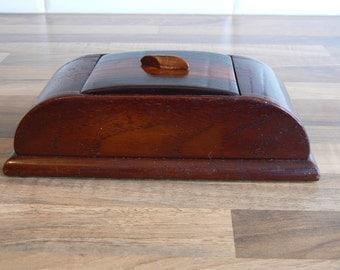 Art Deco Cigarette Box - Stylish and Practical.