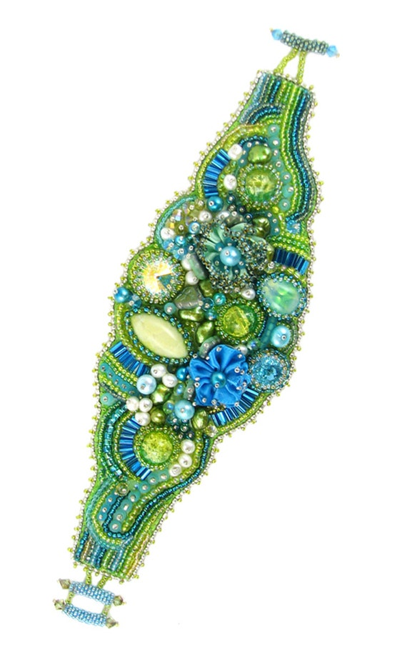 Off cool dawn bead embroidery bracelet kit by